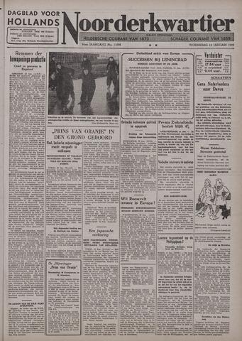Dagblad voor Hollands Noorderkwartier 1942-01-14
