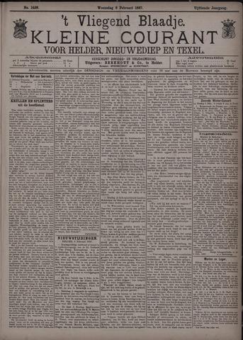 Vliegend blaadje : nieuws- en advertentiebode voor Den Helder 1887-02-09