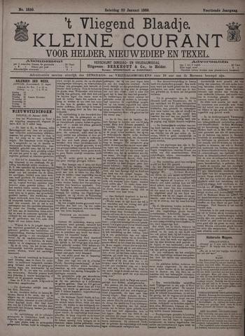 Vliegend blaadje : nieuws- en advertentiebode voor Den Helder 1886-01-23