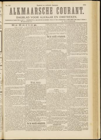 Alkmaarsche Courant 1914-11-11