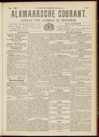Alkmaarsche Courant 1907-10-22