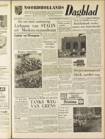 Noordhollands Dagblad : dagblad voor Alkmaar en omgeving 1961-10-30