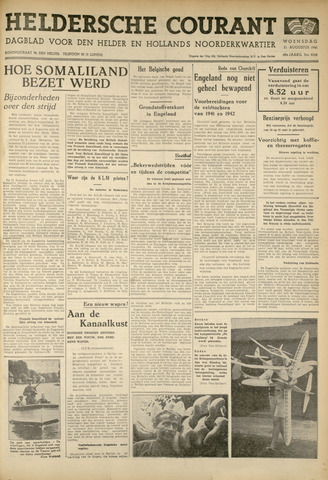 Heldersche Courant 1940-08-21