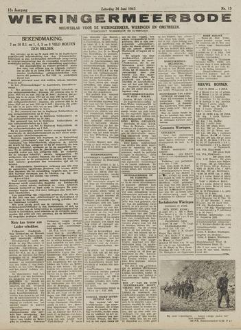 Wieringermeerbode 1943-06-26