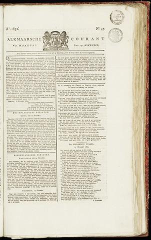 Alkmaarsche Courant 1832-11-19