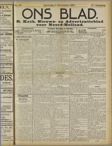 Ons Blad : katholiek nieuwsblad voor N-H 1910-11-05