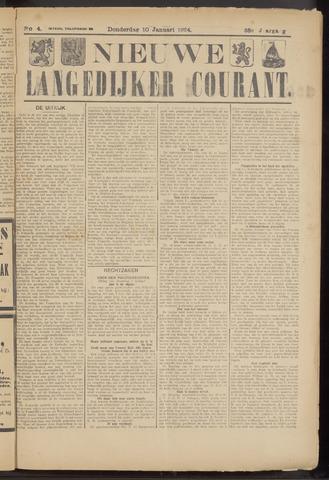 Nieuwe Langedijker Courant 1924-01-10