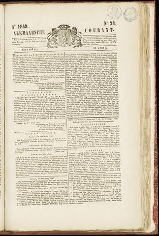 Alkmaarsche Courant 1849-06-11