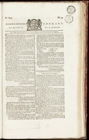 Alkmaarsche Courant 1833-08-26