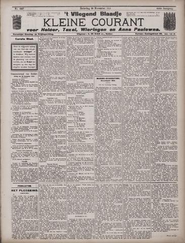 Vliegend blaadje : nieuws- en advertentiebode voor Den Helder 1913-11-29