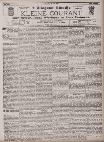 Vliegend blaadje : nieuws- en advertentiebode voor Den Helder 1902-07-02