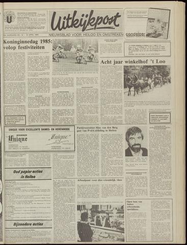 Uitkijkpost : nieuwsblad voor Heiloo e.o. 1985-04-24