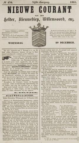 Nieuwe Courant van Den Helder 1865-12-20