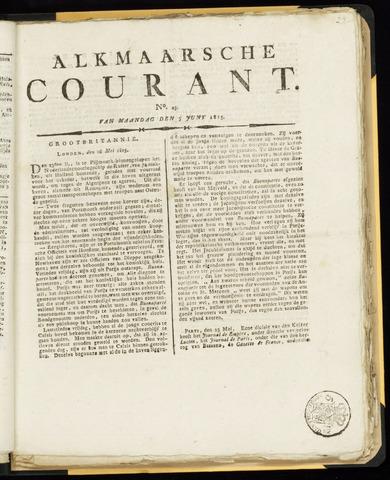 Alkmaarsche Courant 1815-06-05