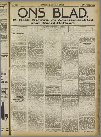 Ons Blad : katholiek nieuwsblad voor N-H 1912-05-25