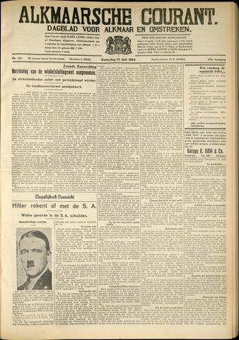 Alkmaarsche Courant 1934-07-14