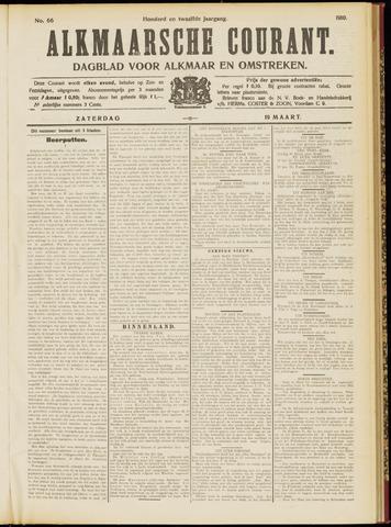 Alkmaarsche Courant 1910-03-19
