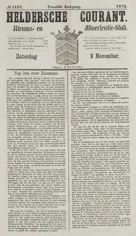 Heldersche Courant 1872-11-09