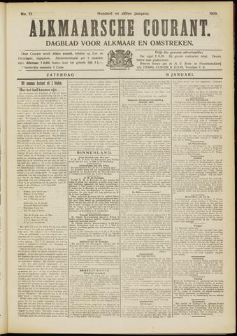 Alkmaarsche Courant 1909-01-16