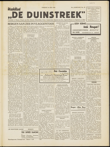 De Duinstreek 1948-07-16