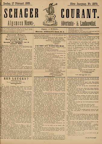 Schager Courant 1889-02-17