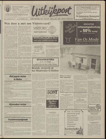 Uitkijkpost : nieuwsblad voor Heiloo e.o. 1985-11-27