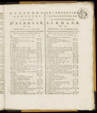 Alkmaarsche Courant 1812-08-12