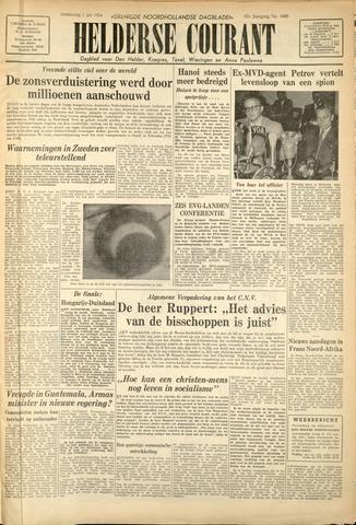 Heldersche Courant 1954-07-01