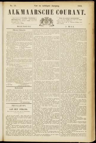 Alkmaarsche Courant 1882-05-03