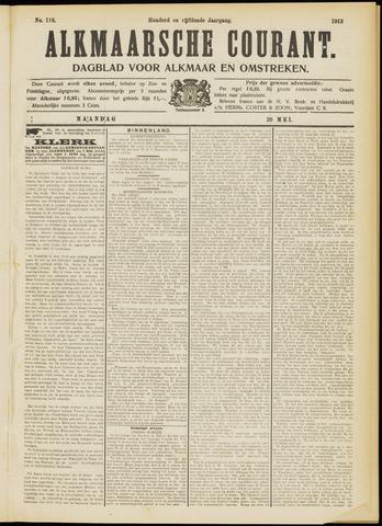 Alkmaarsche Courant 1913-05-26