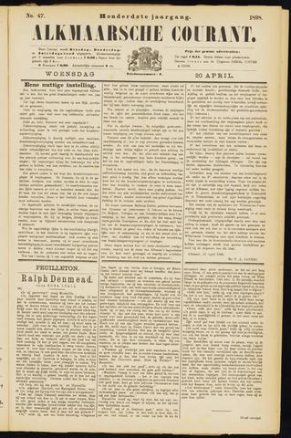 Alkmaarsche Courant 1898-04-20