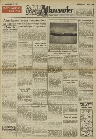 De Vrije Alkmaarder 1948-11-03