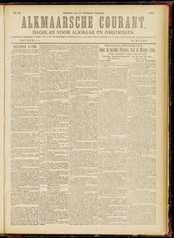 Alkmaarsche Courant 1919-03-13