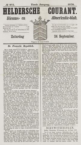 Heldersche Courant 1870-09-24