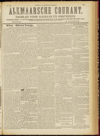 Alkmaarsche Courant 1916-11-21