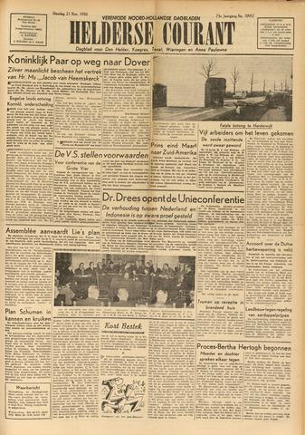 Heldersche Courant 1950-11-21