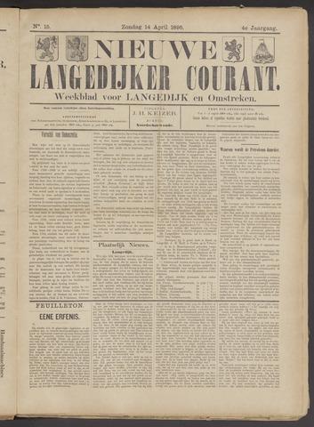 Nieuwe Langedijker Courant 1895-04-14