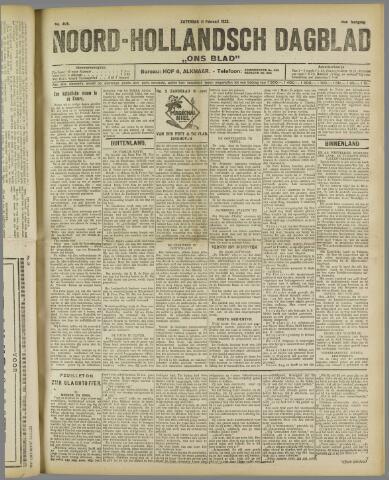 Ons Blad : katholiek nieuwsblad voor N-H 1922-02-11