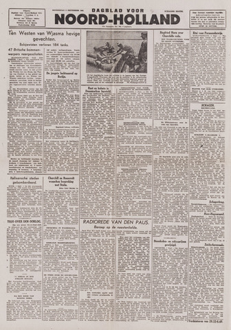 Dagblad Noord-Holland, Schager editie 1943-09-02