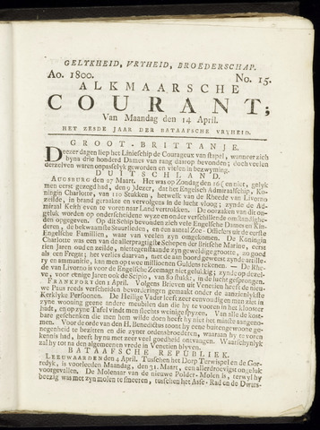 Alkmaarsche Courant 1800-04-14