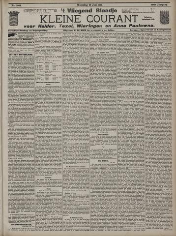Vliegend blaadje : nieuws- en advertentiebode voor Den Helder 1910-06-29