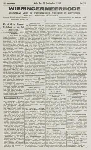 Wieringermeerbode 1944-09-23