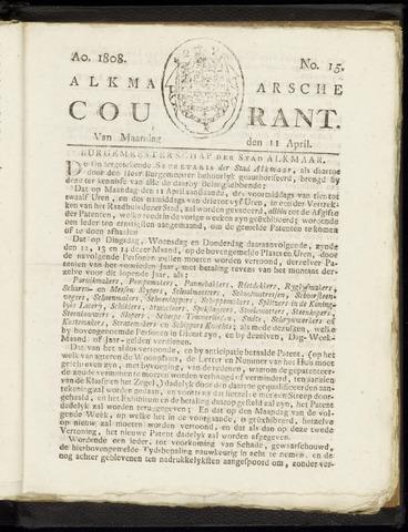Alkmaarsche Courant 1808-04-11