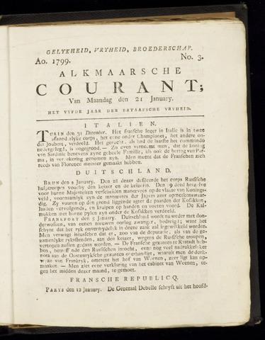 Alkmaarsche Courant 1799-01-21