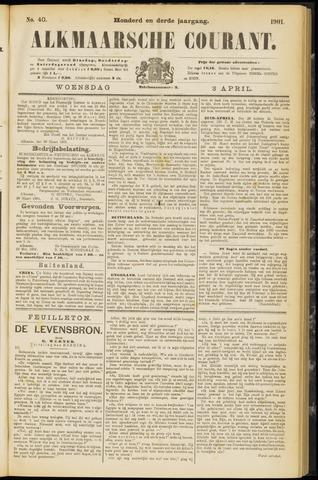 Alkmaarsche Courant 1901-04-03