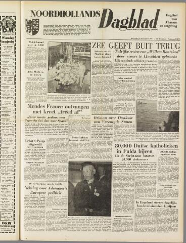 Noordhollands Dagblad : dagblad voor Alkmaar en omgeving 1954-09-01