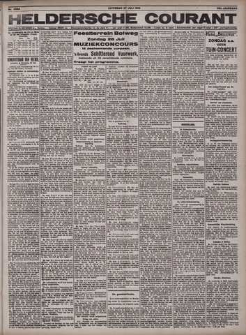 Heldersche Courant 1918-07-27