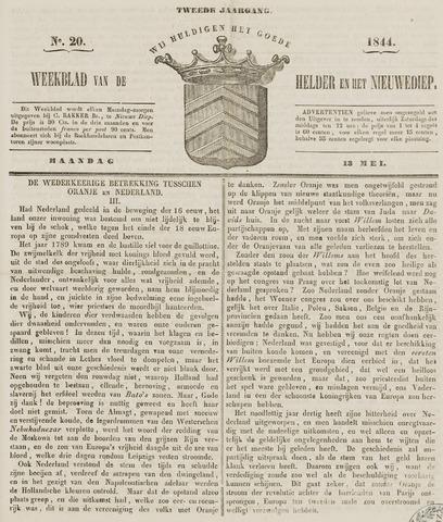 Weekblad van Den Helder en het Nieuwediep 1844-05-13