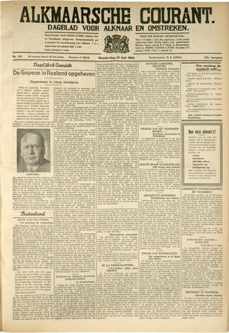 Alkmaarsche Courant 1934-07-12