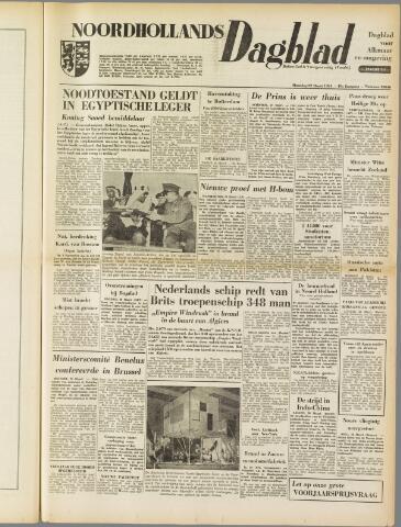 Noordhollands Dagblad : dagblad voor Alkmaar en omgeving 1954-03-29